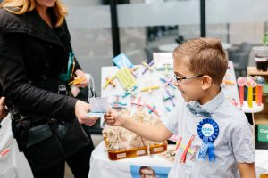 Kids Business Ideas: Child at a Children's Business Fair