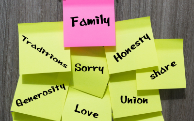Transferring Family Values to Kids — Intentionally!